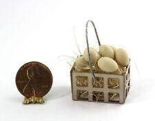 Dollhouse Miniature One Dozen Farm Fresh Eggs by Bright deLights