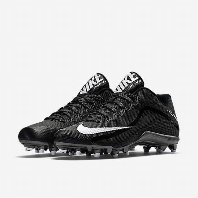 Nike Alpha Pro II 2 Low TD Men s Black Football Cleats Size 10 M for sale  online  549163c67