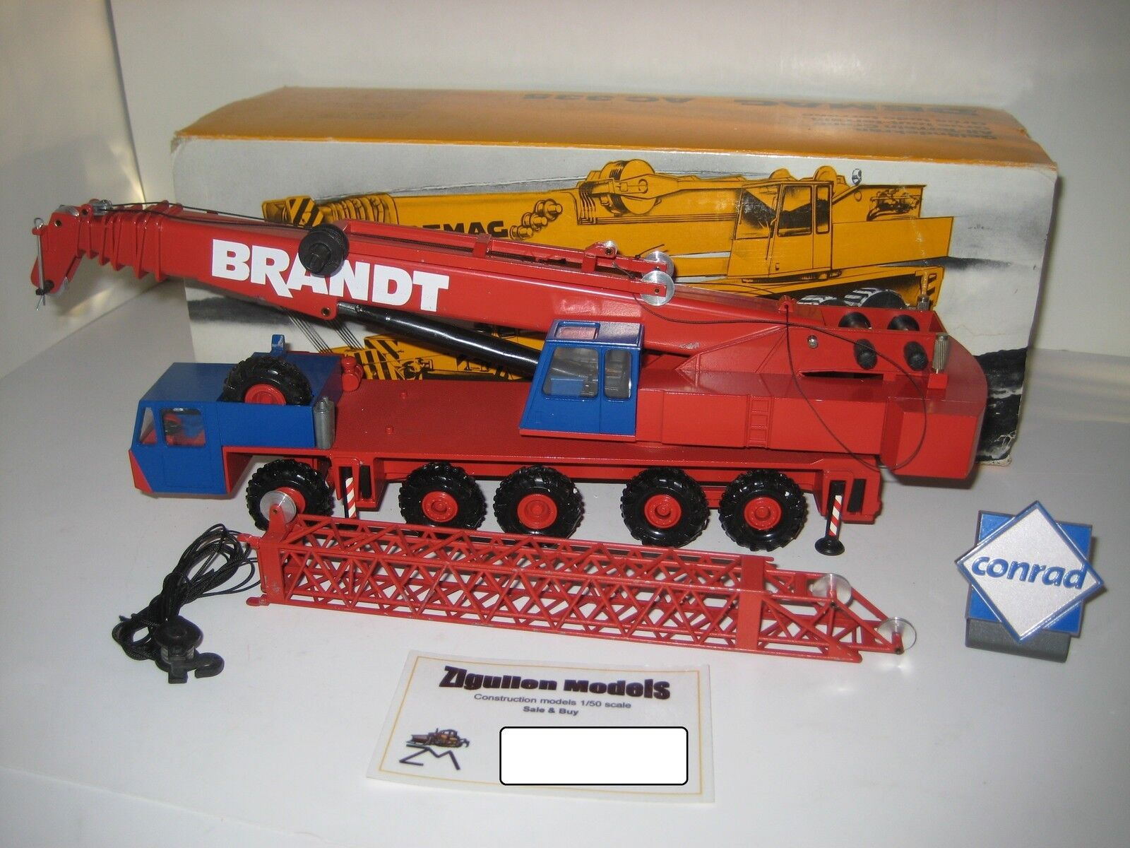 Demag ac 335 autokran Brandt  2081 Conrad 1 50 OVP
