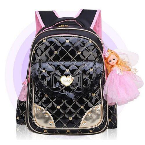 Kids Waterproof Backpack Girls Children Primary Student School Book Bag