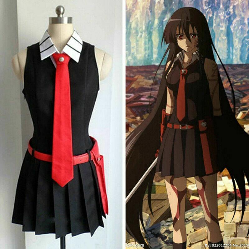 Details about  /Akame ga KILL Night Raid Tatsumi Cosplay Costume Custom Any Size Custom!COS