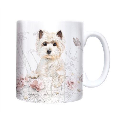 Westie Dog Mug Ceramic Boxed A Great Gift for a West Highland Terrier Lover