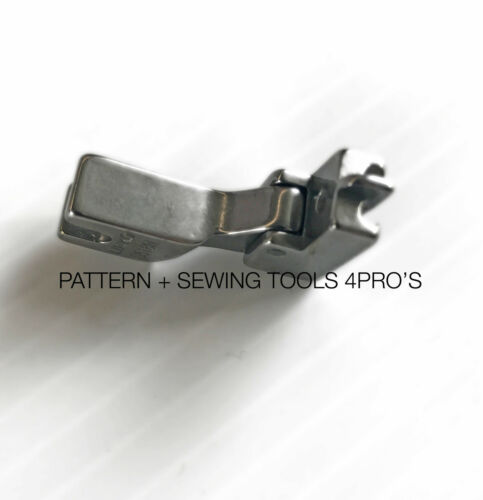 For Juki Industrial Single Needle Sewing Machines Invisible Zipper Foot w//Plow