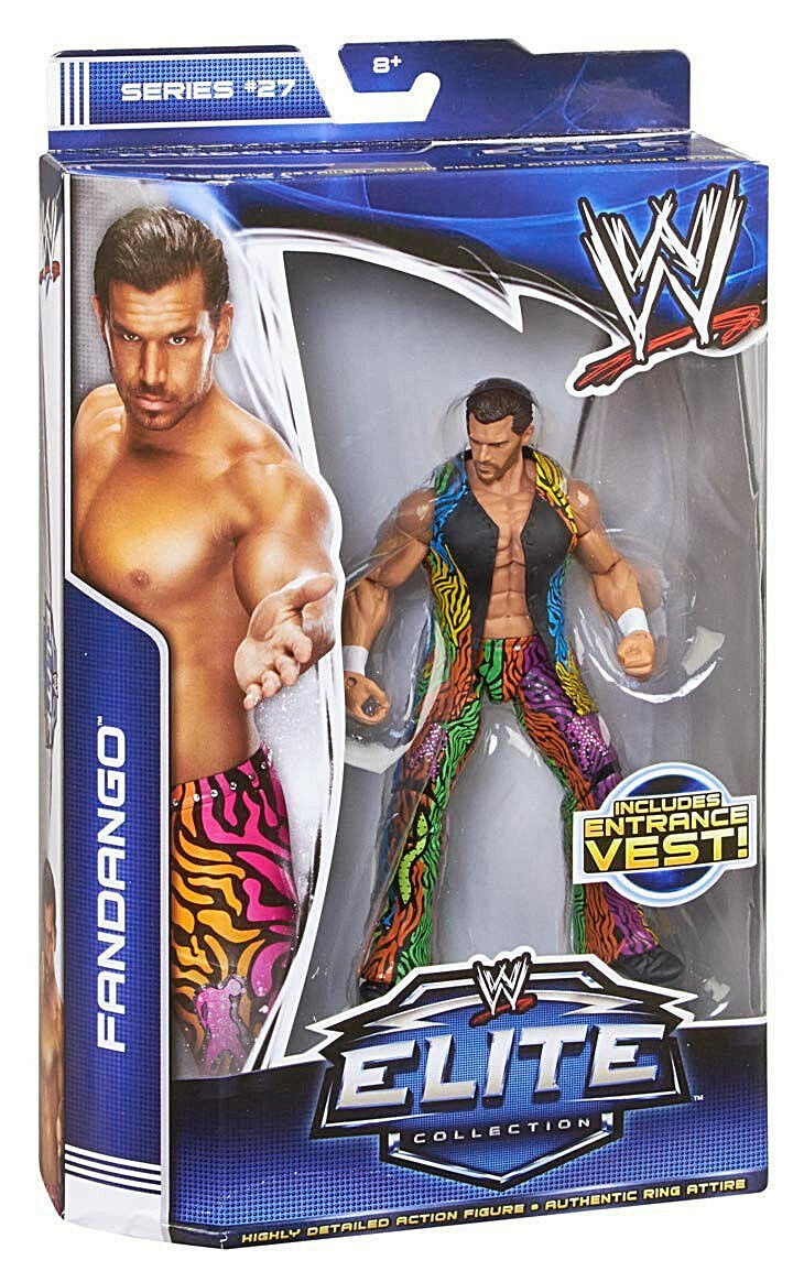 WWE ELITE Collection Series   27__FANDANGO 6 inch figure with Entrance Vest__MIB