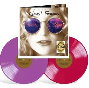 Almost Famous Soundtrack Exclusive Limited Edition Purple Red Colored Vinyl 2 LP