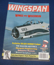 WINGSPAN MAGAZINE DECEMBER 1992 - WINGS OVER WISCONSIN