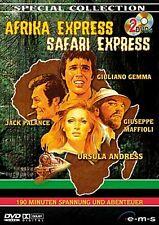 Afrika Express & Safari Express ( 2 DVDs) mit Ursula Andress, Giuliano Gemma NEU