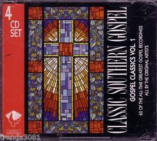 4CD Classic Southern Gospel Volume 1 Greatest Christian FERLIN HUSKY WEBB PIERCE