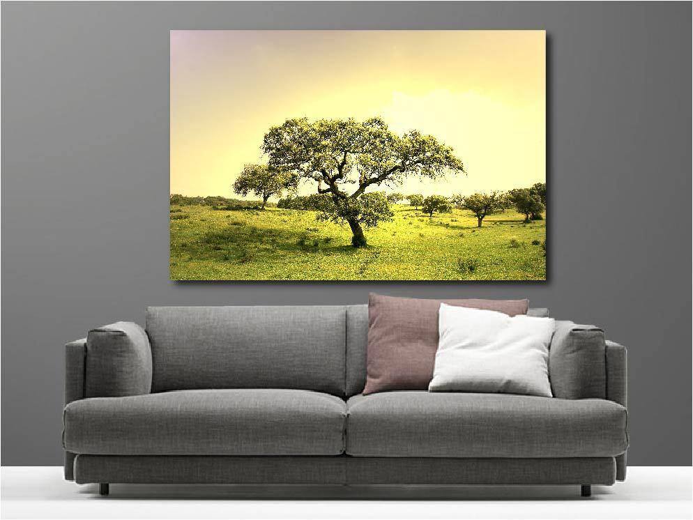 Cuadro pinturas en decoración en pinturas kit Campos árboles ref 3118934 3e4855