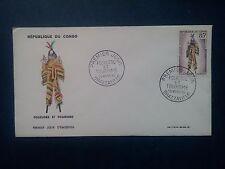L733. Enveloppe Premier Jour. 1965. Congo Brazzaville. Folklore et Tourisme