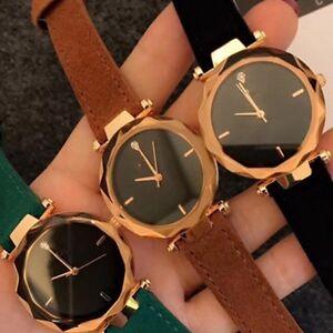 Brand-New-Single-Diamond-Fashion-Women-Girl-Quartz-Round-Wristwatches-Watches