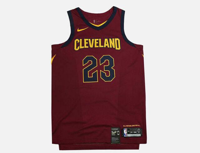 Nike Lebron James Cleveland Cavaliers Icon Aeroswift Jersey 863018-677 Sz 56 2xl