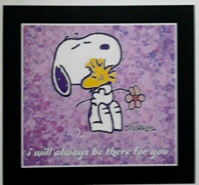 Peanuts ♡ Snoopy ♡ Woodstock  ♡ ALWAYS ♡   Magnet ☆