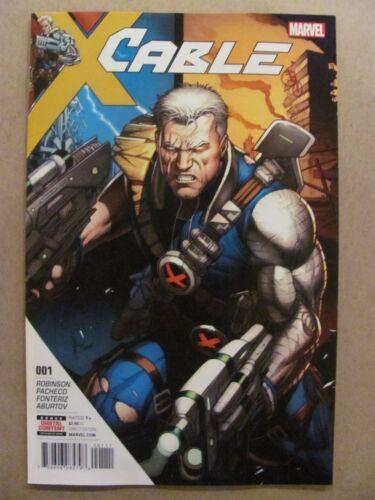 Cable #1 Marvel Comics 2017 Series 9.6 Near Mint+
