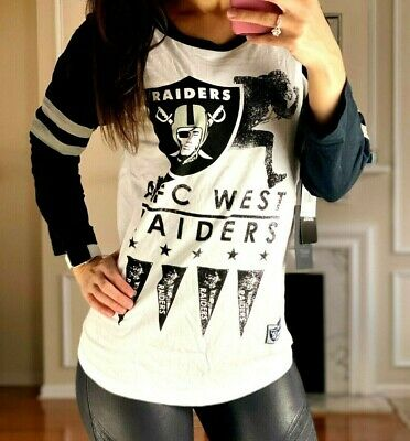Ultra Game NFL Womens Running Game 3//4 Long Sleeve Tee Shirt