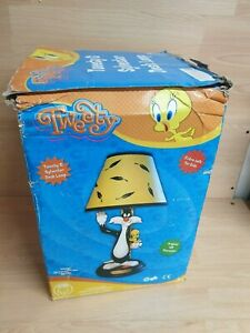 Vintage-Baby-Looney-Tunes-Lamp-Tweety-amp-Sylvester-extra-safe-for-kids