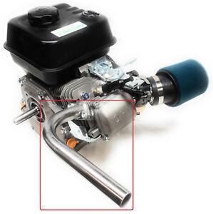 Details about Exhaust Pipe for Predator 212cc, Honda GX160, GX200  Go Kart  & mini bikes