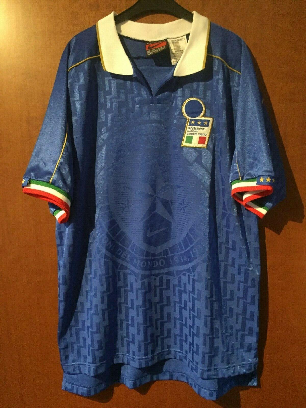 Maglia Shirt Maillot Trikot Camiseta Italia  Match Worn Di Matteo Albertini