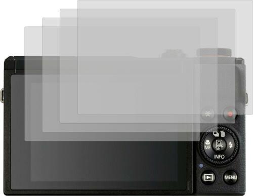 4x Proteggi Schermo Opaco per Canon PowerShot g7 X MARK III