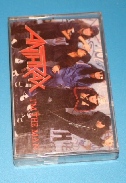 I'm the Man [EP] by Anthrax (Cassette, 1987, Island Records)