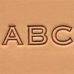 Block Alphabet Leather Stamp Set 1 2 Inch 8143 00 Tandy Leather