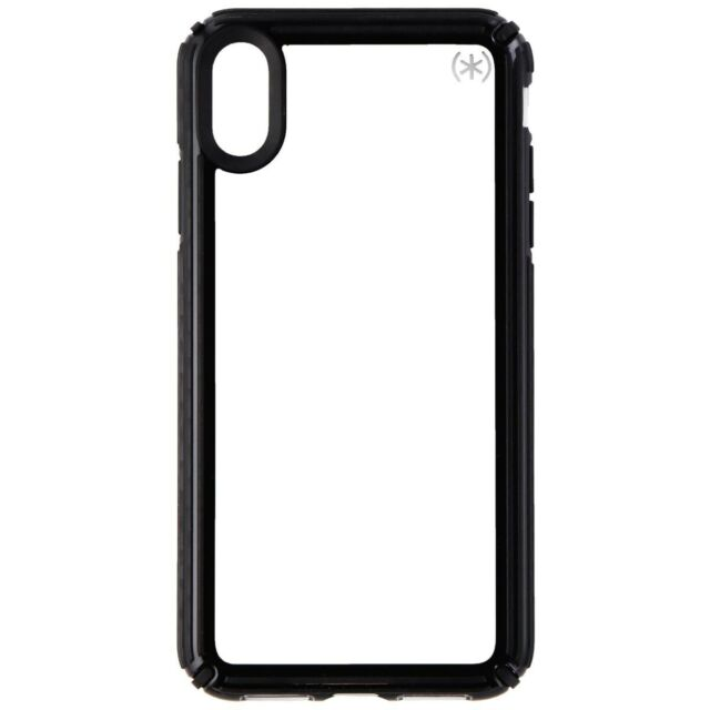 35f5b50749 Speck Presidio V-GRIP Series Case for Apple iPhone XS Max - Clear/Black