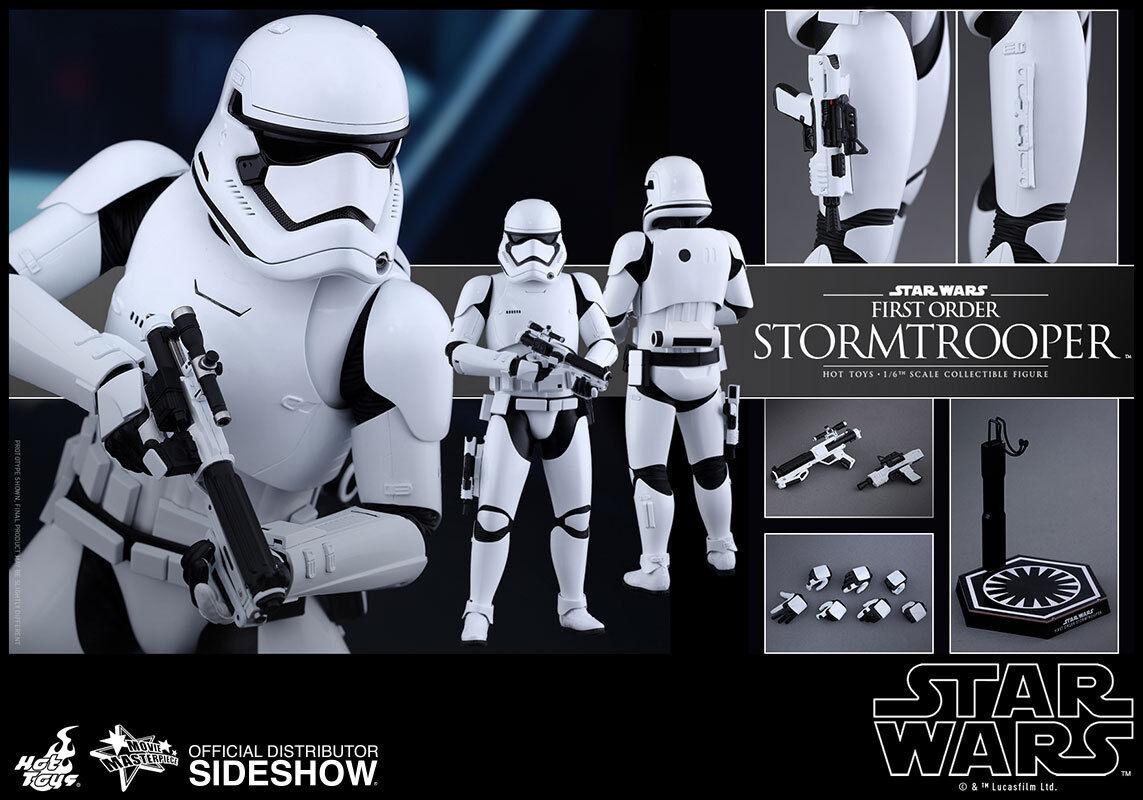 1 6 Estrella Wars Stormtrooper Movie Masterpiece de primer orden por Hot Juguetes 902536