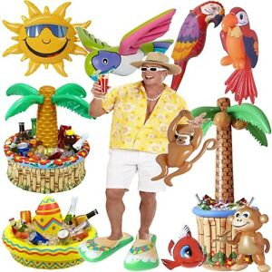 Top aufblasbare party deko hawaii strandparty sommer fest for Top deko shop