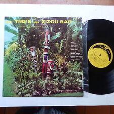 les TIKI 's au Zizou bar ANZAC TE OKA BEN NGATAI Tahiti Maori Hawai Manuiti 3013
