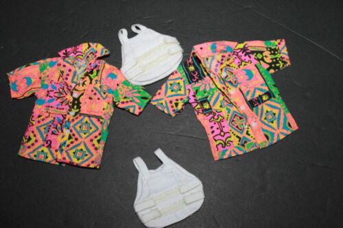 1/6 DRAGON Modern détective de la police sous couverture Hawaiin shirt/gilet pare-balles