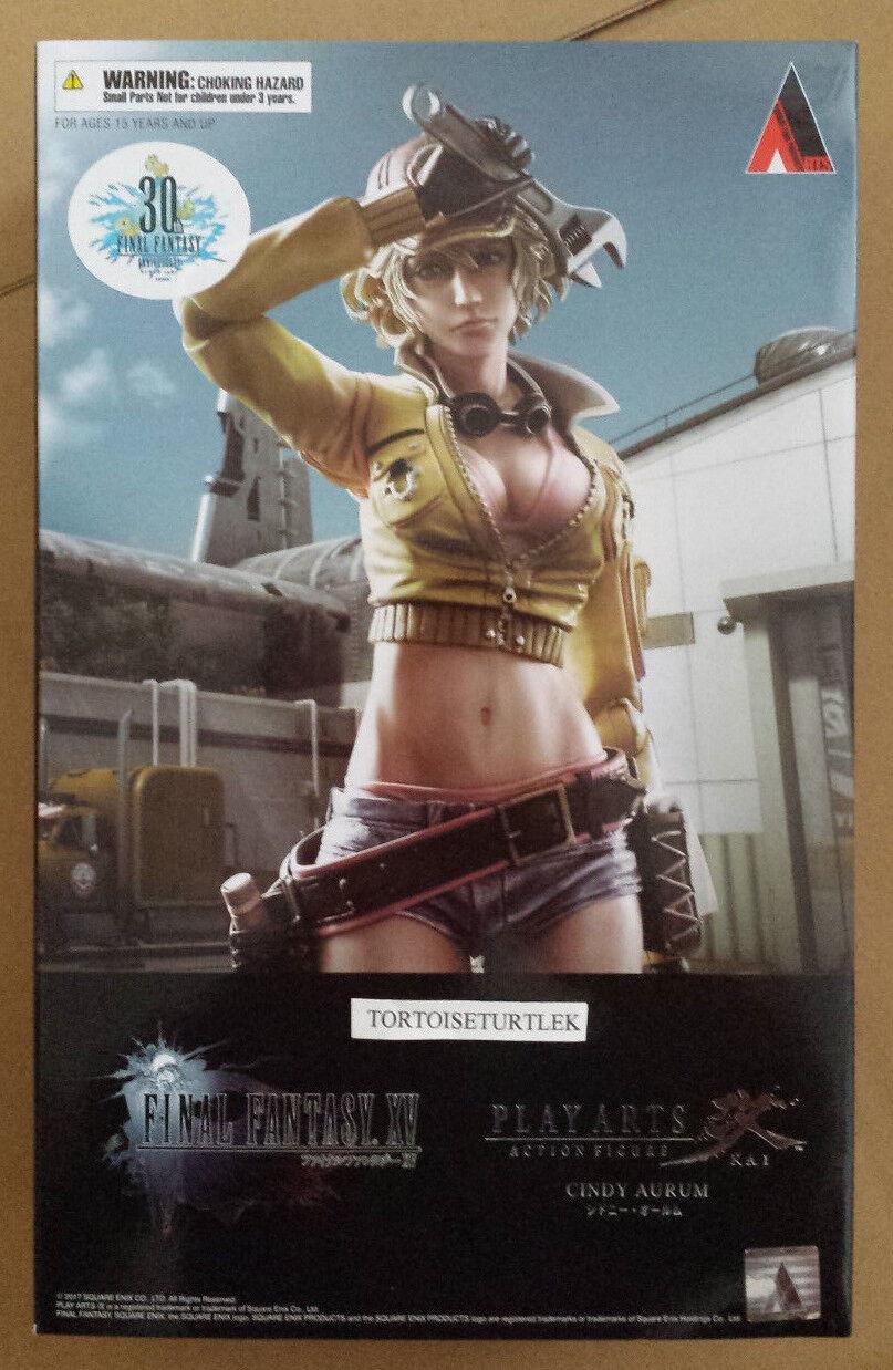 Square Enix Play Arts Kai Final Fantasy XV Cidney Aurum Action Figure