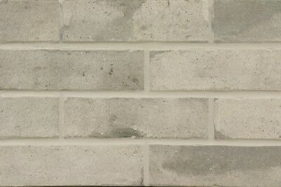 Kleberiemchen üBerlegene Materialien Interbau Brick Loft Hellgrau 574 Klinker-riemchen Nf-format Klinker