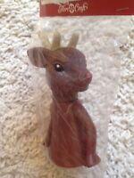 Reindeer Air Freshener Doll 6.5 Fibre-craft 3420 Vtg 1995 Christmas Animal Rare