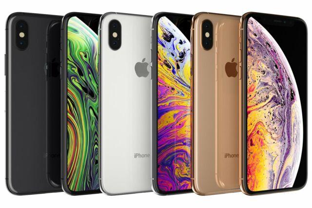 Apple iPhone XS 64GB, 256GB, 512GB, CDMA + GSM Unlocked Good Condition