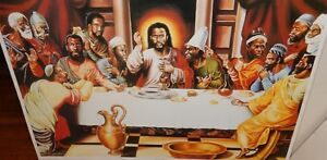 Alix Beaujour The Last Supper African American Lithograph Ebay