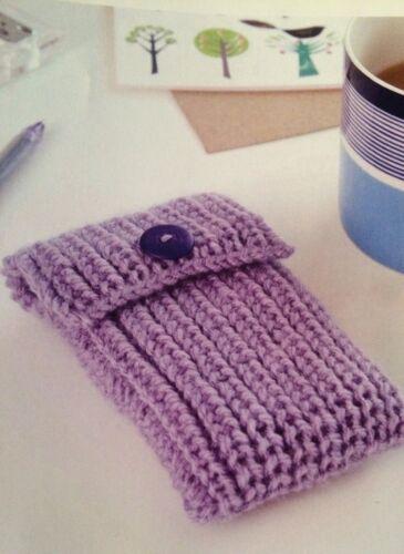 Mobile Phone Case Easy Knitting Pattern