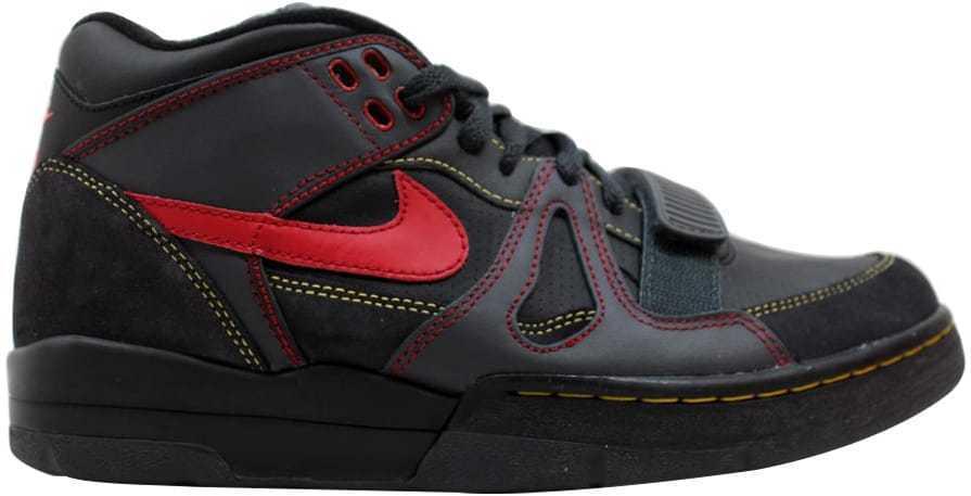 Nike Air Alpha Force II 2 Black/Varsity Red-Anthracite-Mango 307718-061 SZ 12.5