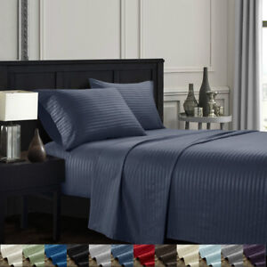 Dreaming-Casa-4-Piece-Deep-Pocket-Queen-King-Bed-Sheet-Set-Fitted-Flat-Full-Twin