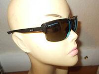 REVO RE4067-02 Cruxs Black Frame Blue Mirror Polarized Lenses Sunglasses Italy