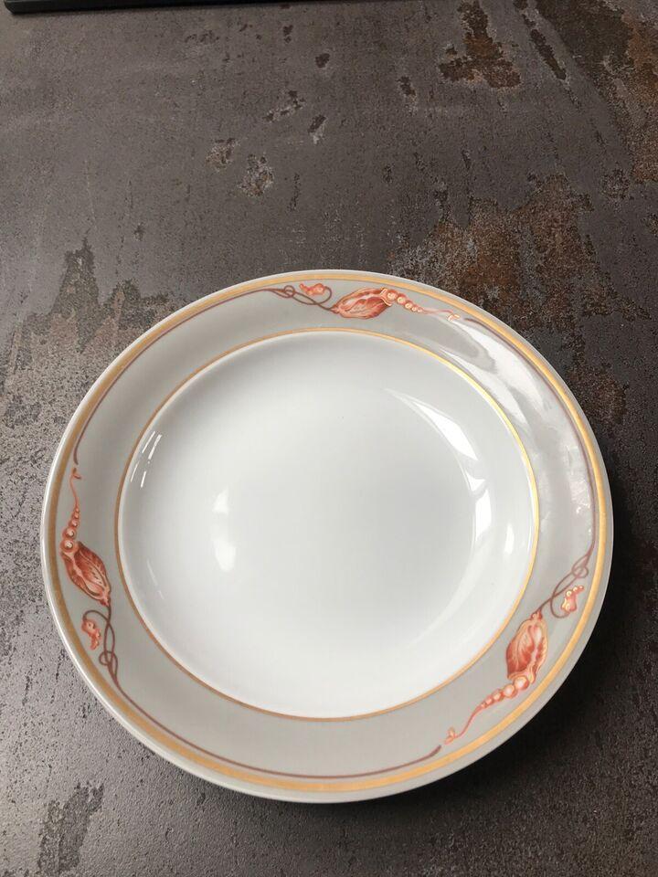 Porcelæn, Tallerkner , Royal Copenhagen