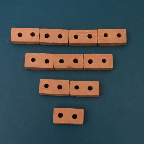 50PCS Mini Small Brick DIY Sand Table Building Model Accessories Simulated Red