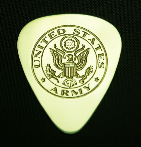 ARMY Solid Brass Guitar Pick Acoustic Bass Electric