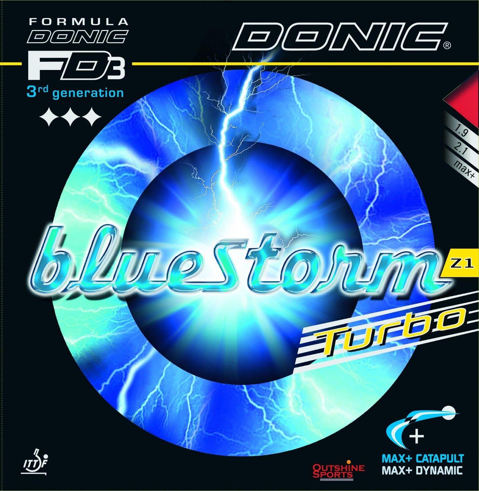 Donic blueeStorm Z1 Turbo Table Tennis Rubber