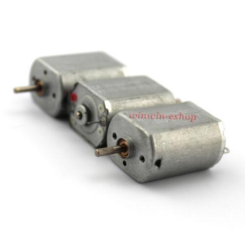 DC 3V 5V 6V 3600RPM Mini FF-130SH Electric Motor 2mm shaft DIY Toy Car Model