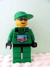 LEGO Minifig arc007 @@ Arctic - Green, Green Cap - 6573 6575