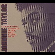 TAYLOR,JOHNNIE-LIFETIME CD NEW