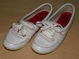 553f262bc3f0d Details zu Adidas Concord Round Ballerinas Sleek Series weiss Lack Gr. 38  2/3