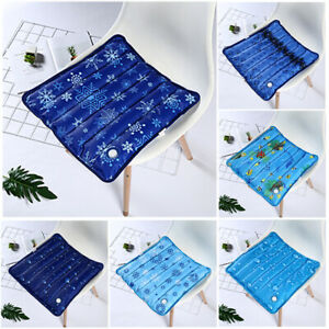 Details about Ice Pad Summer Ice Pillow Sofa Laptop Car Cooling Seat  Cushion Chair Mat