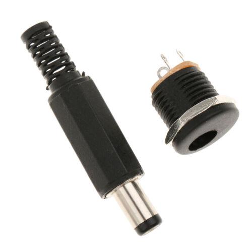 2.1mm x 5.5mm DC Stecker Adapter Kupplung Hohlstecker Steckverbindung