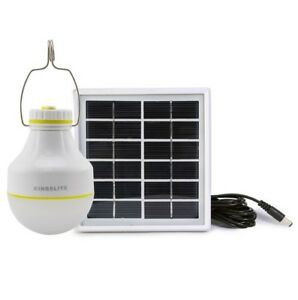 Camping-Solar-Rechargeable-2W-LED-Bulb-and-Solar-Panel-Charge-mobile-iPhone-NEW